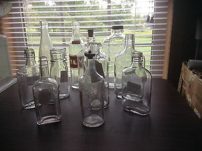 Mixed Lot Collectable Old Bottles