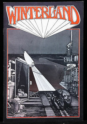 GRATEFUL DEAD JEFFERSON AIRPLANE 1970 Winterland Concert Program IKE TINA TURNER