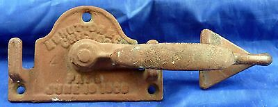 Early H. H. Hutton Chicago Door Latch