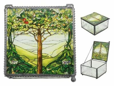 Tiffany Tree of Life Trinket Box