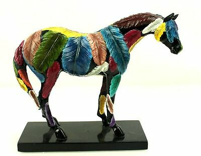 The Trail of Painted Ponies 12206 HORSEFEATHERS 2E 2005 Westland Horse Figurine