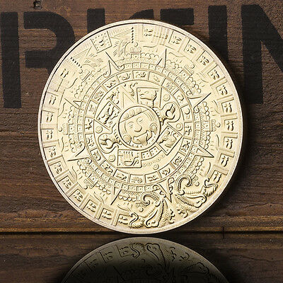 New Mexican Maya Calendar Golden Coin Russian European Soviet Union