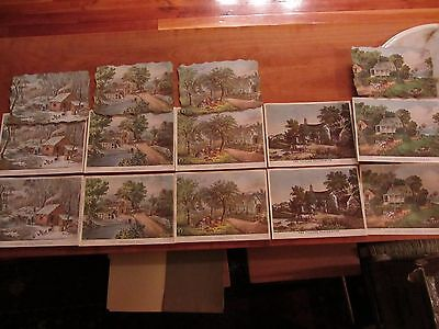 Stapco N.Y. Currier Litho lot made in USA