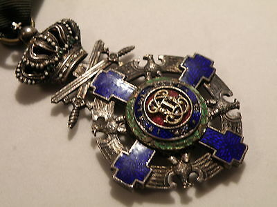Romania Kingdom Order of the Romanian Star with swords Knight