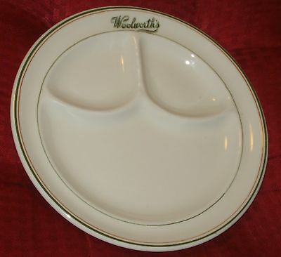 WOOLWORTHS NEW ORLEANS DINNER PLATE Rare Estate Find Department Store La