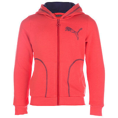 Infant Girls Puma Fun Graphic Essential Hoody In Coral- Hooded