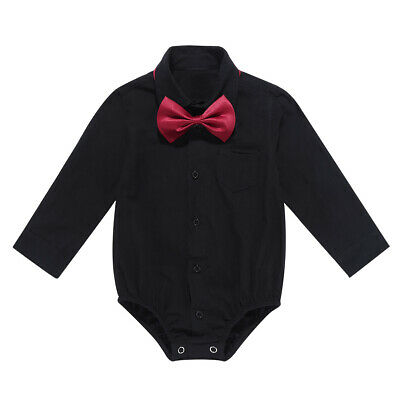Newborn Kids Baby Boys Infant Outfits Gentleman Jumpsuit Romper Bodysuit Clothes