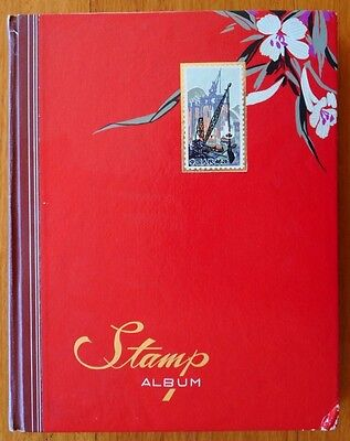Stamp Album(Flying Eagle China) - Collection of 750+ Different World Stamps
