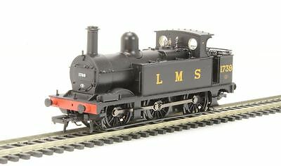 Bachmann Railway Model - Midland Class 1F 1739 LMS Black Open Cab Train - 31-433