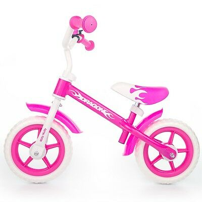 Vélo d'enfants Milly Mally DRAGON ROSE meilleure alternative équilibre direction