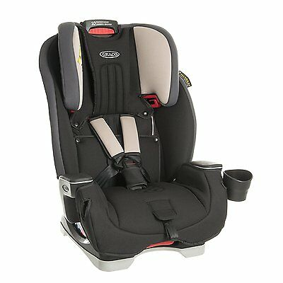 NEW Graco Milestone All-In-One High Back Booster Car Seat, Group 0+/1/2/3
