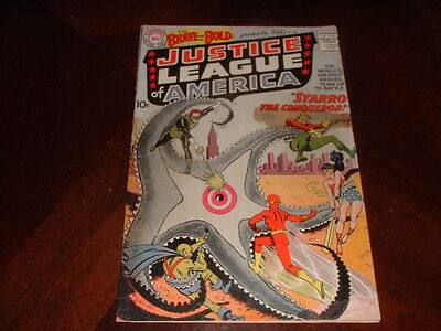 Brave And Bold #28  / March, 1960 /  1St Justice League Of America / Hot Comic !