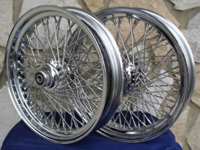 "16"" 80 Spoke Kcint Dna Wheels For Harley 2000-06 Heritage Deluxe Fat Boy Parts"