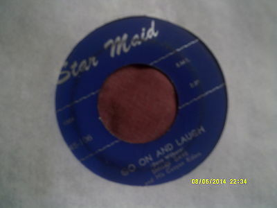 """SMILIN DAVE WILBURN-GO ON AND LAUGH obscure USA COWBOY COUNTRY 7"""""""