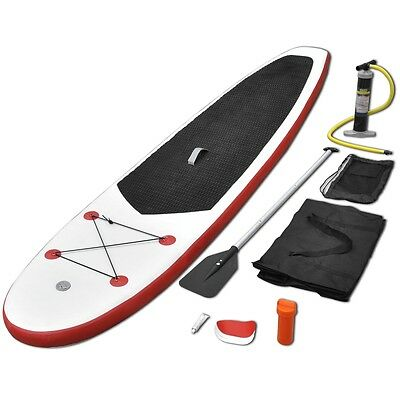 Stand Up Paddle Planche à rame planche stand up paddle Rouge et blanc
