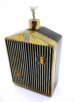 Rolls-Royce musical Flask/Decanter With MASCOT 1970's