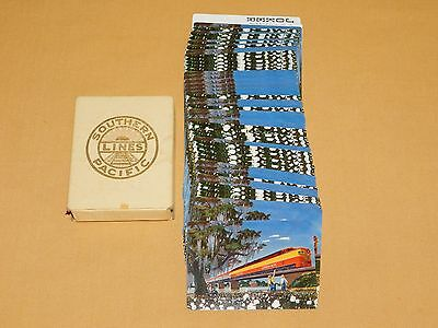 Vintage Southern Pacific Lines Train Playing Cards
