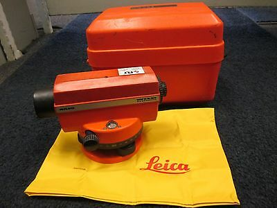 Wild Heerbrugg NA20 Line Level With Case Surveying Level