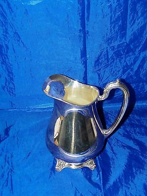 1881 Rogers Glenrose Silverplated Milk Water Pitcher 20871