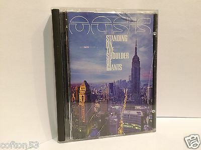 "OASIS ""STANDING ON THE SHOUILDER OF GIANTS"" MiniDisc MD MiniDisk"