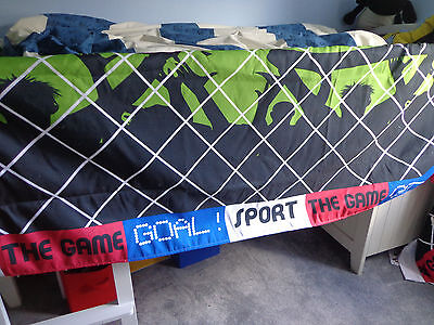 Boys Bedroom Underbed Football Goal Tent