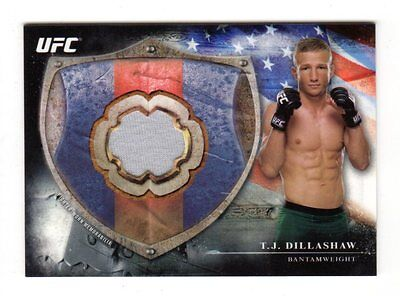 T.J.DILLASHAW 2014 TOPPS UFC BLOODLINES FIGHTER RELICS #ed 048 /208
