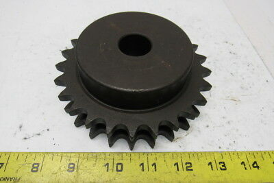 "Martin D50B25H Double Row 1"" Bore to Size 25 Tooth Sprocket"