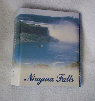 "Niagara Falls Photo Album for 4""x6"" pictures 120 view pages"