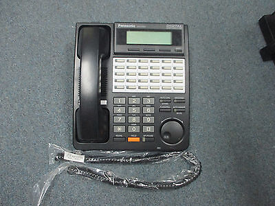 Panasonic KX-T7453 B 24 Button Digital DISPLAY Speaker Telephone Black KX-TDA50