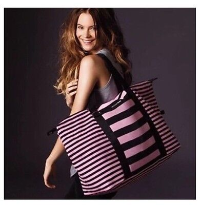 Victoria's Secret Travel Getaway Weekender Oversized Duffle Bag Tote NWT Rare
