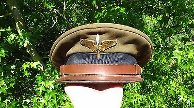 WW2 US Army Air Corps USAAC Cadet Student Dress Cap Hat Size 6 1/2