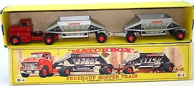 Lesney Major Pack No. 4 Gmc Fruehauf Hopper Train - Mint Boxed