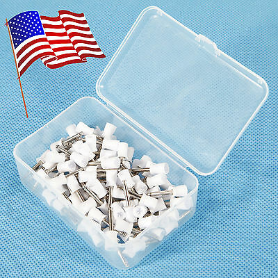 1 Pack Dental Prophy Tooth Polish Polishing Cups Webbed Latch Type Rubber USA