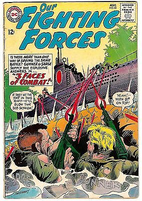 Our Fighting Forces #86 (1964) G/VG-VG     Kubert Cover/Art