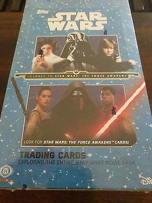 Topps Star Wars Journey to the Force Awakens sealed hobby box