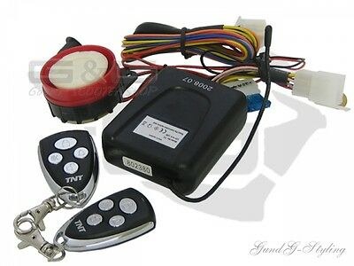 Alarm universell for motorcycle, Moped, Scooter, Scooter, Quad, ATV
