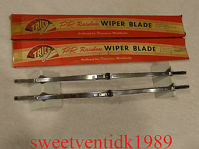 "'NOS' Trico Wiper Blades....15"".....Shiny Stainless Steel"