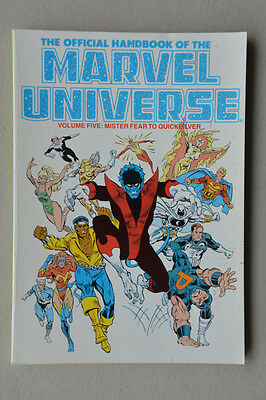 The Official Handbook Of The Marvel Universe Volume Five