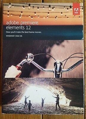 Adobe Premiere Elements 12, OFFICIAL, PC & MAC, FULL VERSION, MULTILANGUAGE