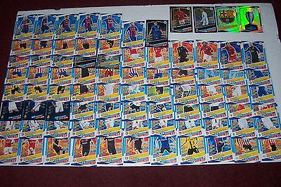 Job Lot Match  Attax Champions League 16/17 (Over 80 Cards - All Different)