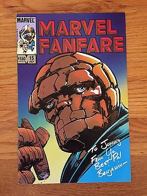 Marvel Comics MARVEL FANFARE #15 NM The Thing by Barry Windsor Smith 1984
