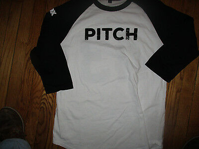 NWOT FOX TV Series PITCH #43 Byrne 3/4 Sleeve Shirt Large
