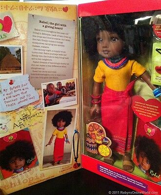 Hearts to Hearts Doll Rahel from Ethiopia- NRFB Original Run Doll SALE!