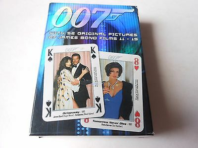 Playing Cards  007 James Bond New And Sealed Films 11-19
