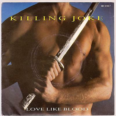 Killing Joke Disco 45 Giri Love Like Blood B/w Blue Father - Version