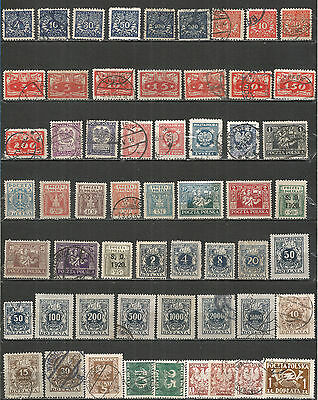 POLAND from 1919 year  nice COLLECTION mint/used stamps
