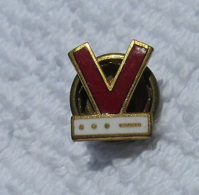 WW 2  Victory Task Force home front Lapel pin screw back