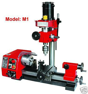 Sieg M1 Vari-Spd Multi-Function Metal Lathe/Milling/Drilling/Mill Drill Machine