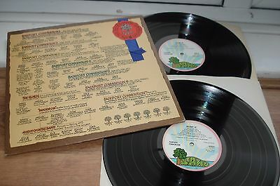 The History Of Fairport Convention 1ST PRESS! EX+/EX+/EX COMPLETE 1972 UK 2 LP