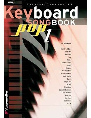 Keyboard Songbook, Pop 1 - Norbert Opgenoorth